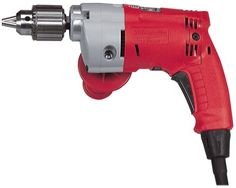 Milwaukee Magnum 5.5 Amp 1/2 inch drill is built for industrial and construction applications. It boasts a Milwaukee-built 5.5 Amp motor, 0-850 rpm trigger speed control, and a Quik-Lok cord which can be removed from the drill quickly. The Milwaukee 0234-6 also features a brush cartridge system, which allows you to change brushes in less than 1 minute.