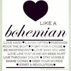 Like a Bohemian <3