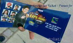 The Kapil Sharma Show Ticket Passes