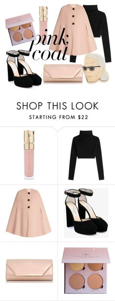 """""""pinky? promise!"""" by raihanahnajwa ❤ liked on Polyvore featuring Smith & Cult, Valentino, Roksanda, Jimmy Choo, Dorothy Perkins and Georgia Perry"""