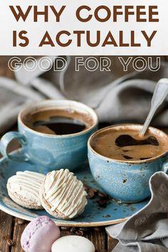 Coffee is good for you. Caffeine Addiction, Period, Health Fitness, Coffee, Tableware, Blog, Kaffee, Dinnerware, Dishes