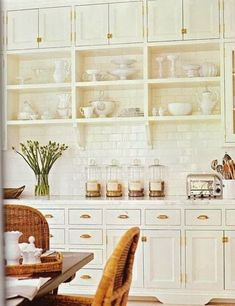 French Cottage Kitchen Inspiration -  So remember how I said that our dishwasher replacement    revealed a few issues in the kitchen?     When we pulled the dishwasher out to re...