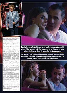 Royals & Fashion: Concert de Rod Stewart, Madrid