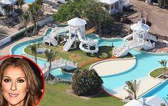 1000 images about celebrity pools on pinterest celine - Celine dion swimming pool ...