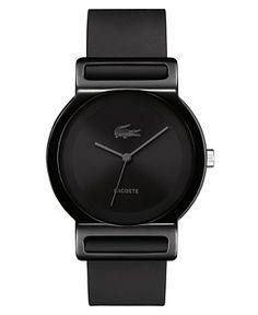Men s Lacoste Watch Bracelet Silicone c0583a2de9dd