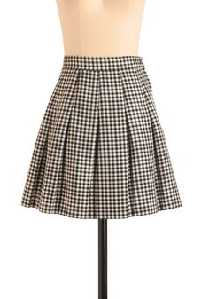 Vintage Czech It Out Skirt. When it came your turn to share the details of your dream date, there wasnt a hint of hesitation!  #modcloth