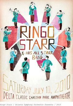 Ringo Starr & his all starr band- Didn't see him here..back in the 90's at the Mann Music Center in Phila