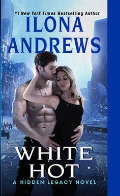 My beloved books - blog książkowy: White Hot (Hidden Legacy Series)