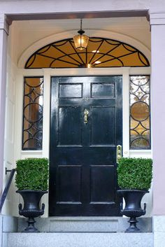 Great Transom And Sidelights Entrance Halls, Grand Entrance, Entrance Doors,  Front Door Entryway
