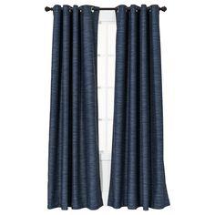 Threshold™ Uptown Stripe Light Blocking Curtain ... : Target - $30