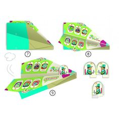 Djeco Origami Paper Planes | Childrens Origami & Kirigami by Djeco