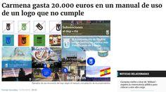 El Ayuntamiento está violando el manual de uso de la nueva imagen gráfica de la ciudad. Tal como reveló OKDIARIO en primicia, se contrató a dedo a un diseñador para elaborar un nuevo logo que costó 20.267,50 euros con el IVA incluido. Un trabajo que se acompañó de un libro de estilo que se está infringiendo. Lo cierto es que el cambio fue muy sutil: se eliminaban las exclamaciones que se introdujeron en el logotipo con Ruiz-Gallardón y se usaba un azul muy saturado - OK Diario 12/9/16