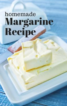 Oz: Homemade Margarine Recipe A Bowl Filled with Ice Water 3 Tablespoons Soybean Oil 3 Tablespoons Coconut Oil 2 Tablespoons Milk 2 Tablespoons Egg Yolk Teaspoon Lemon Juice Pinch of Salt What Are Trans Fats, Elimination Diet Recipes, Healthy Snacks, Healthy Recipes, Eating Healthy, Healthy Eats, Delicious Desserts, Dessert Recipes, Health