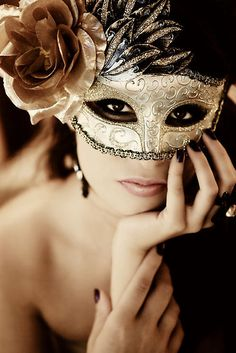 the mask and the eyes. By jacqleen