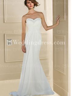 informal bridal dress