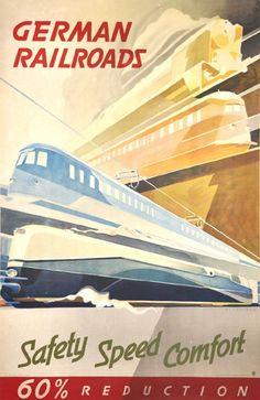 Safety, Speed, Comfort. Exquisite Vintage Travel posters 1920-1950 Exhibition in design gallery ZEITLOS – BERLIN from 13 October to 9 December 2012