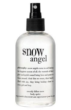 Snow Angel body spritz