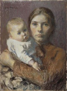 Gari Melchers - Mother and Child, 1904