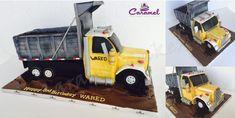 Truck Cake - Cake by Caramel Doha Gravity Defying Cake, Truck Cakes, Cakes For Men, Transport, Edible Art, Celebration Cakes, Amazing Cakes, Doha, Caramel