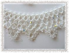 Frywolitki- ślubna biżuteria frywolitkowa - Anna Maranta - Picasa Web Album