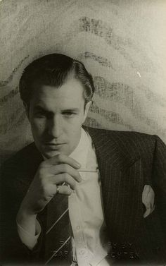 Vincent Price, 1939.  A classically trained Shakespearean actor, gained fame for his horror roles.