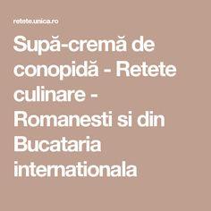 Supă-cremă de conopidă - Retete culinare - Romanesti si din Bucataria internationala Macarons, Halloumi Burger, Vegan Recipes, Cooking Recipes, Vegan Food, Romanian Food, Romanian Recipes, Corn Dogs, Pasta