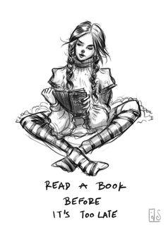 Read a book...
