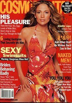 Jennifer Lopez Cover- Cosmopolitan Magazine February 1995