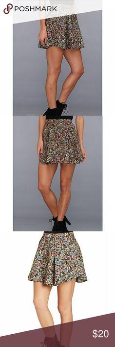BCBGeneration A-Line Floral Skirt Women's XXS BCBGeneration A-Line Skirt Women's XXX. Brand new. Floral print. BCBGeneration Skirts A-Line or Full
