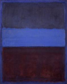 Rothko Artist | Rothko, Blue | Politiquement Dégagé