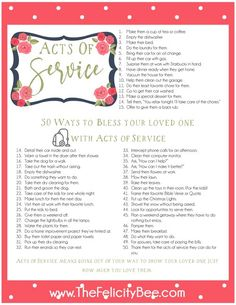 Fun and Practical Ways to Speak the Five Love Languages.. Download all of the printables at the end of this post.
