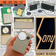 SONY transistor radios book TR-52 vintage TR-55 TR-63 TR-2K TR-33 ICR-100 TR-86