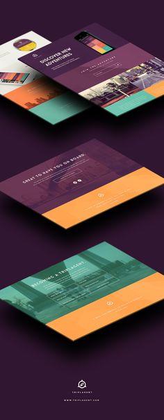@TriplAgent Branding and Design by Taras Kravtchouk, via Behance #TriplAgent
