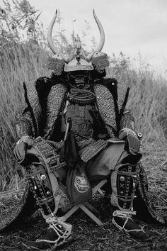 Epic warrior of old Japan