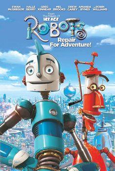 Robotlar - Robots - 2005 - DVDRip Film Afis Movie Poster