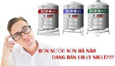 Những loại bồn nước Sơn Hà nào đang được bán chạy nhất
