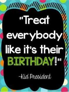 What a wonderful idea!  Happy Birthday Everyone!! #positiveoutlook #inspire #birthday #comerollwithme