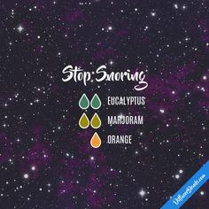Stop Snoring - Essential Oil Diffuser Blend