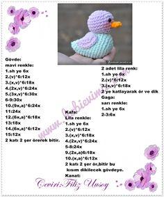 Cosas A Crochet Free Crochet Cat Crafts Crafts For Kids Patron Crochet Knitting Humor Crochet Animals Crochet Dolls Baby Toys Crochet Bunny Pattern, Crochet Birds, Bead Crochet Rope, Crochet Animal Patterns, Crochet Patterns Amigurumi, Crochet Motif, Crochet Animals, Diy Crochet, Crochet Crafts