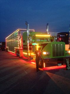 Larry has this truck pinned. I got these pics this past summer at Iowa Figured he would like a couple more of them. Show Trucks, Big Rig Trucks, Custom Big Rigs, Custom Trucks, Rv Truck, Pickup Trucks, Peterbilt Trucks, Custom Peterbilt, Peterbilt 389