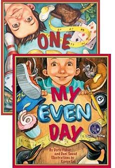 Books, One Odd Day and My Even Day by Doris Fisher and Dani Sneed