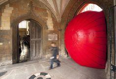More Kurt Perschke, Red Ball Project.