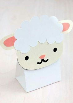 Sheep box diy for eid gifts Eid Crafts, Ramadan Crafts, Ramadan Decorations, Easter Crafts, Diy And Crafts, Crafts For Kids, Fest Des Fastenbrechens, Eid Party, Birthday Parties