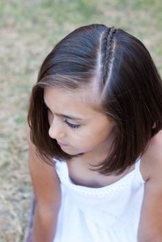 Little Girl Haircuts with Bangs - hair styles - Cute Hairstyles For Short Hair, Trendy Hairstyles, Braided Hairstyles, Curly Hair Styles, Kids Hairstyle, Asian Hairstyles, Girls Short Hair Styles, Hairstyle Ideas, Little Girl Haircuts
