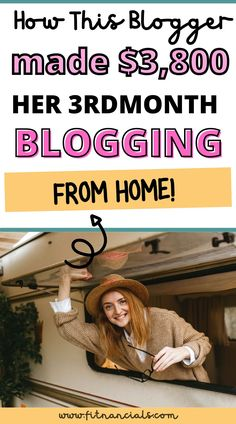 How Sara Made $3,800 Her 3rd Month Blogging Make Money Blogging, Saving Money, How To Make Money, Passion Project, What To Read, New Things To Learn, Kind Words, Love Reading, Pick One