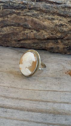 Check out this item in my Etsy shop https://www.etsy.com/listing/243001091/vintage-silver-cameo-ring-800-silver
