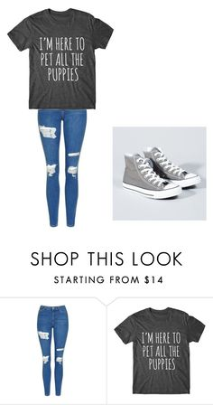 """Untitled #181"" by cruciangyul on Polyvore featuring Topshop and Converse"