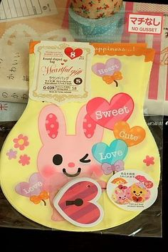 """This is super cute wrapping bag.- 8 bags as a set- Size: 14.5cm x 19.5cm (4.7"""" x 7.7"""")Material: Poly…"""