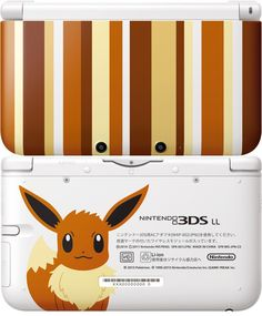Pokémon Eevee 3DS XL. I would lose my mind if Nintendo released this in the US.