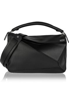 eb136c4b0a2e Loewe - Puzzle small leather shoulder bag